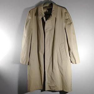 London Fog Trench coat Sz 40 REG